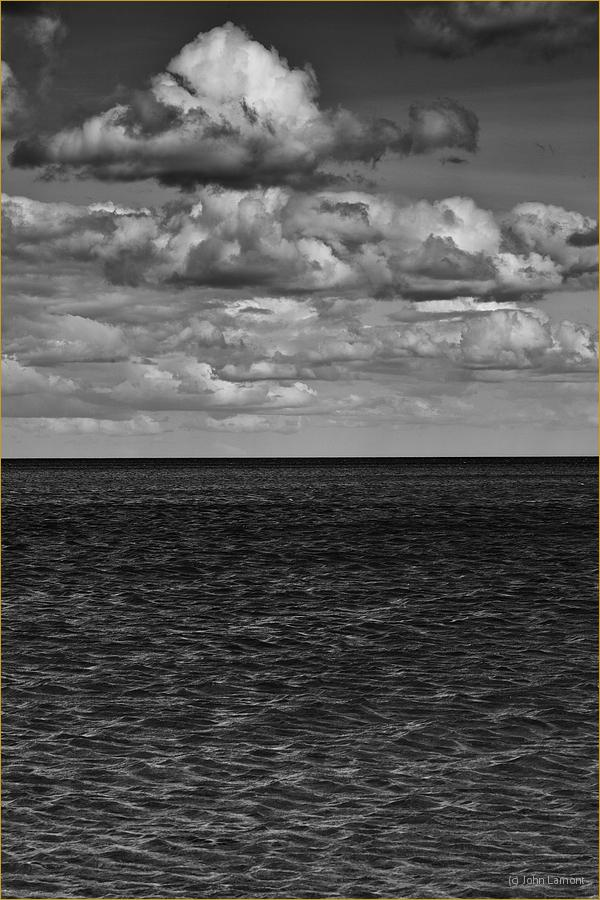 Sea and clouds photograph