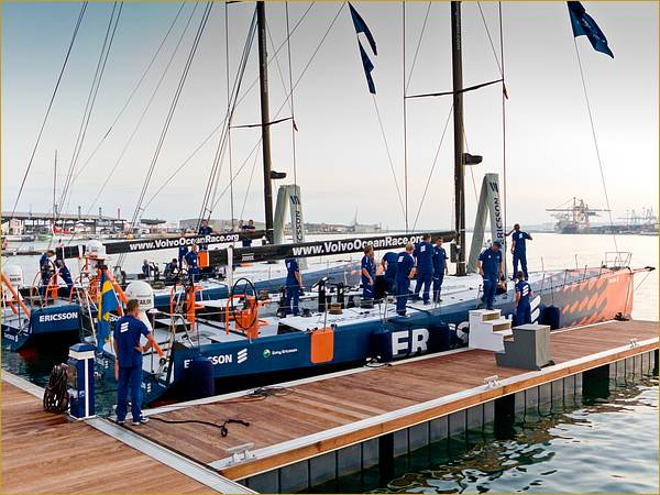 Preparing for the Volvo around the world ocean race
