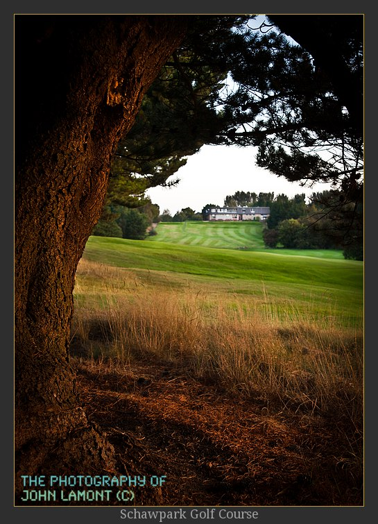 Golf Photograph of the 1st tee
