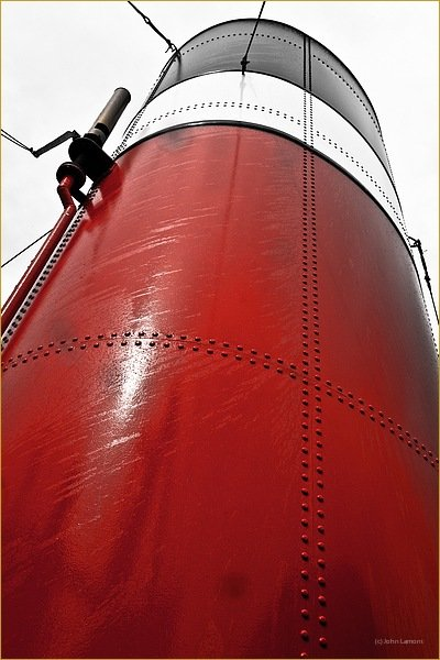 red ship funnel