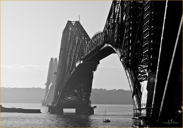 Photography of Forth rail bridge