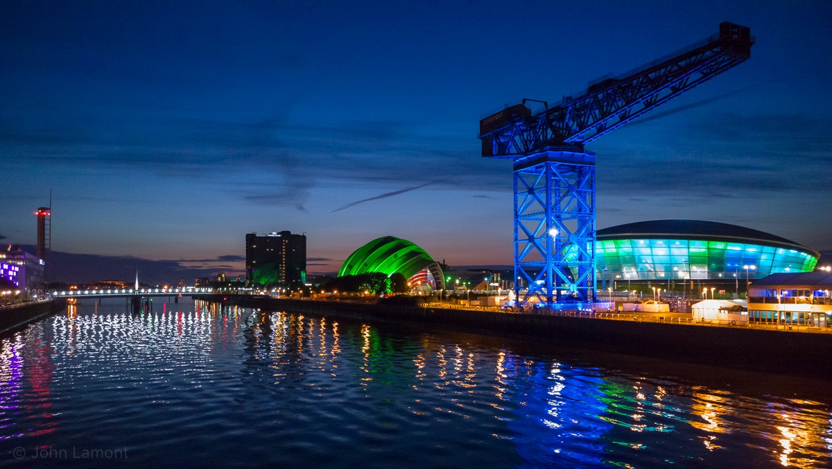 Clyde at night