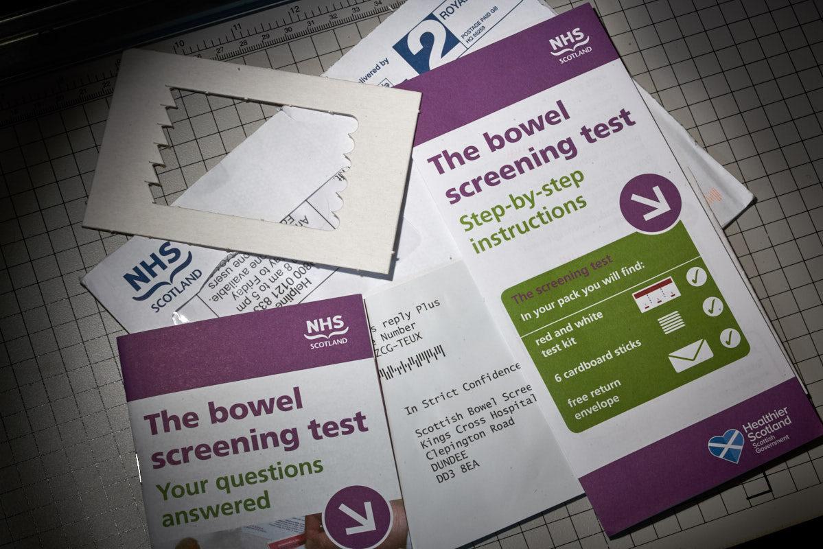Bowel testing kit