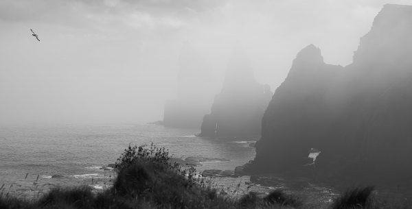 Duncansby Head stacks and Thirle Door
