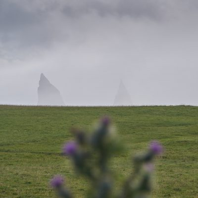 Tips of Duncansby Head stacks