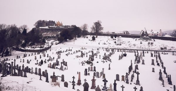 Mar's Walk, Graveyard, Star Pyramid and Stirling Castle