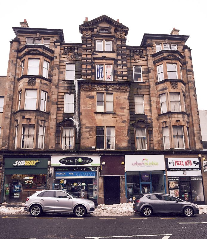 Flats and shops in Stirling