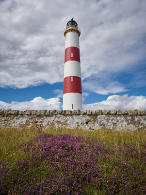 Tabart Ness Lighthouse at Portmahomack
