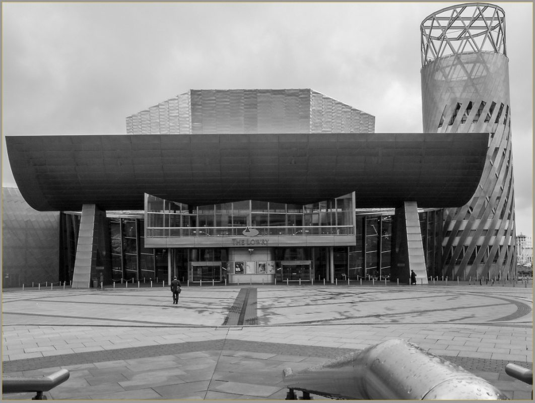 Lowry Theatre, Salford Docks, Manchester