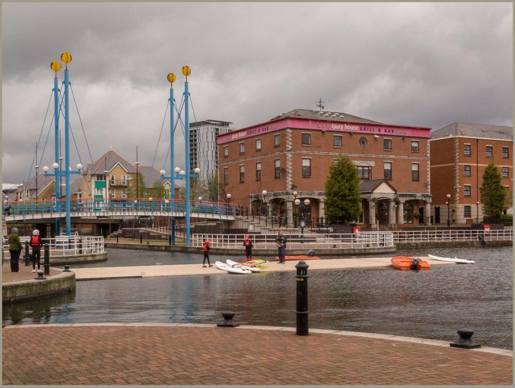 Ontario Basin Salford Docks