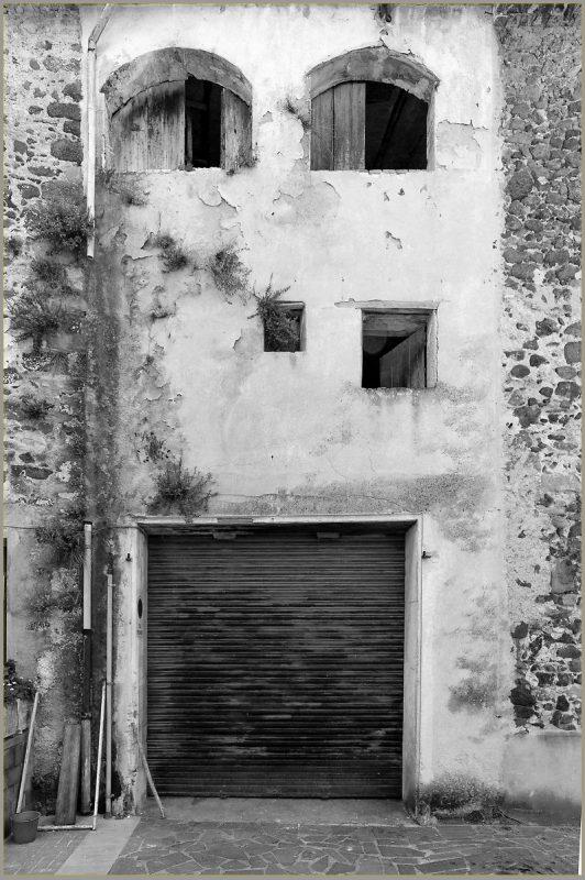 A building face