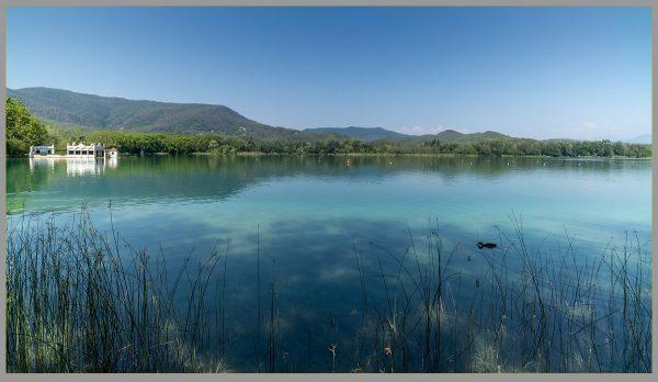 Ducks on Lake of Banyoles