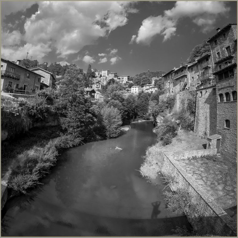 River through Rupit