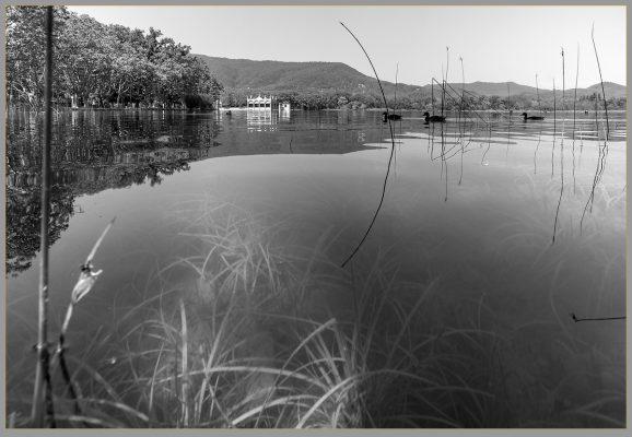 Underwater lake of Banyoles