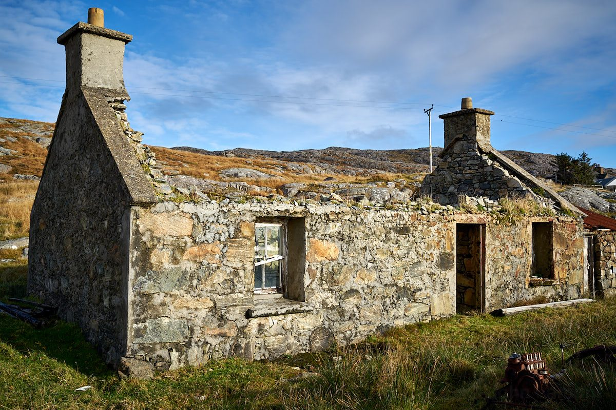Derelict Cottage at Loch Stocanais