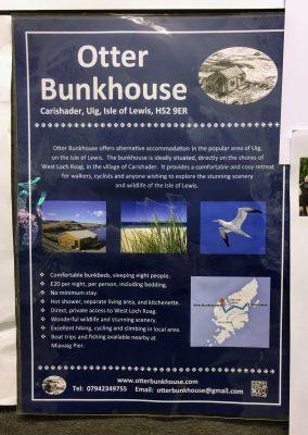 Otter Bunkhouse, Uig, Lewis