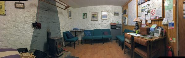 Inside of Rhenigidale Gatliff Hostel, Isle of Harris