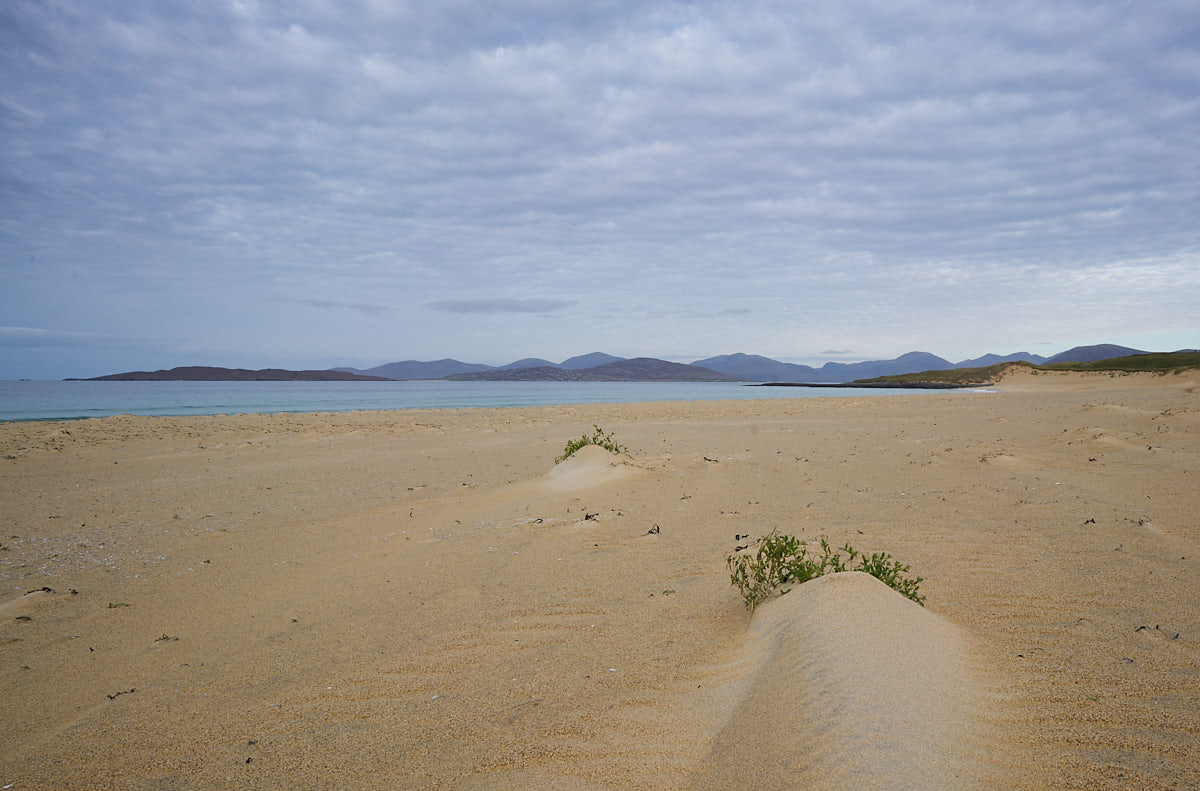 Scarista beach towards Taransay
