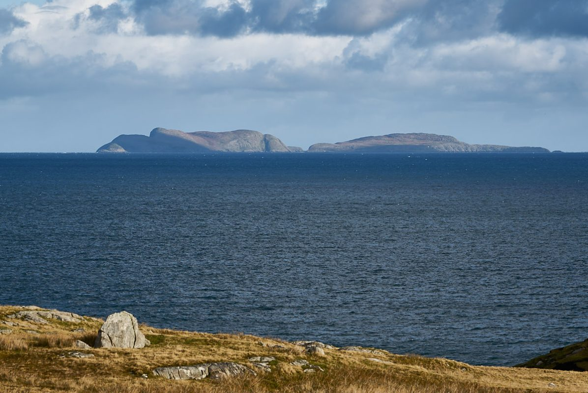Shiant Isles in The Minch