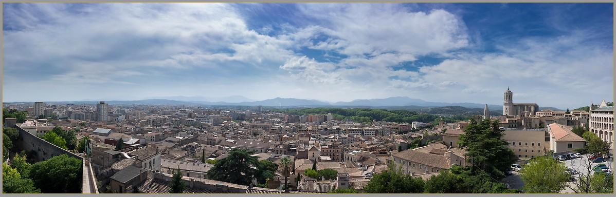 Girona panorama