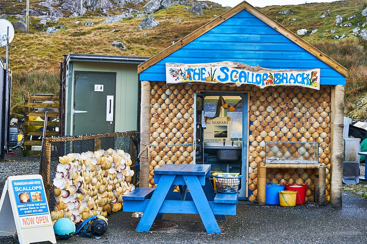 The Scallop Shack, Uig, Lewis