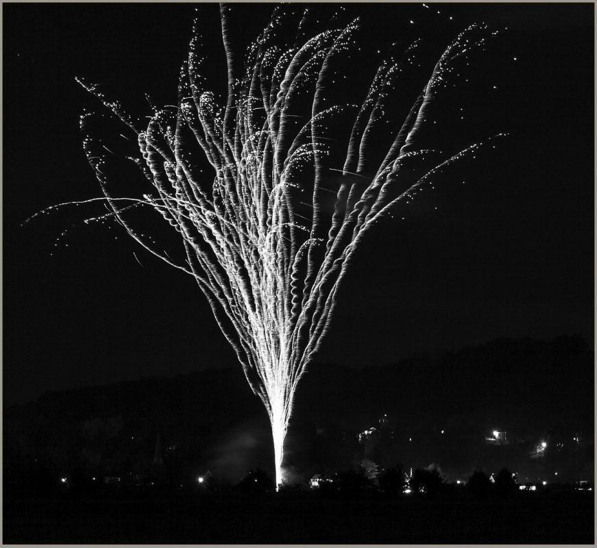 Frizzy fireworks